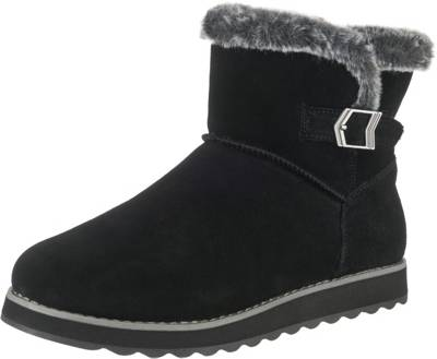 SKECHERS, Keepsakes 2.0 Broken Arrow Winterstiefeletten, schwarz