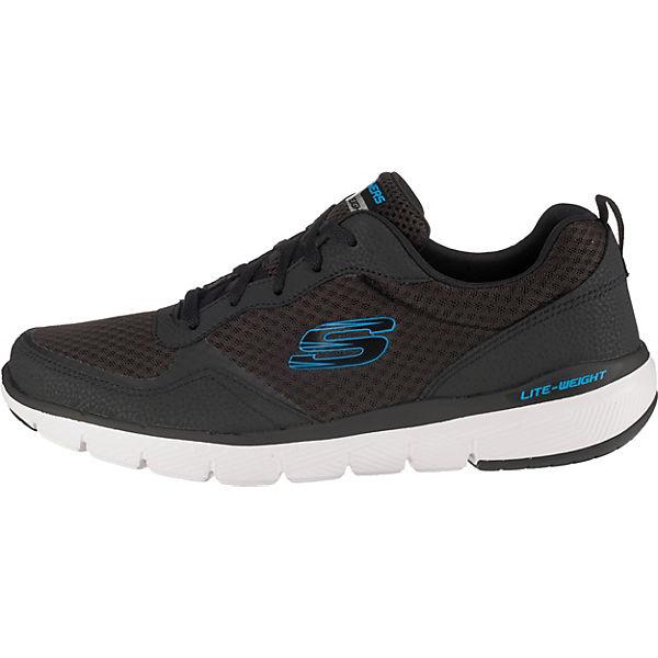 SKECHERS Flex Advantage 3.0  Sneakers Low schwarz Modell 1