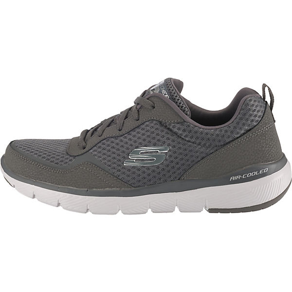Advantage 3 Grau Low Flex 0 Skechers Sneakers 3T1lJFKc