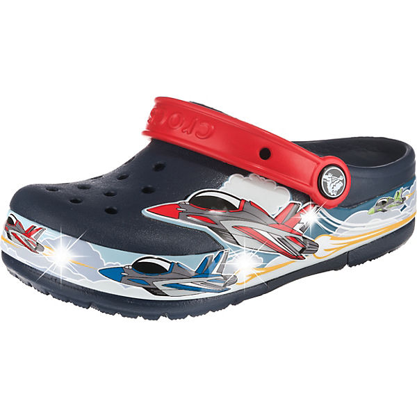 Clogs Blinkies Jets Band Lights für Jungen