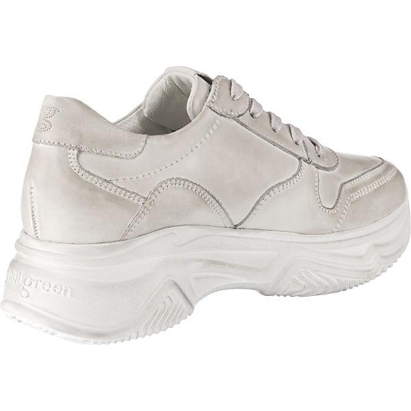 Weiß Paul Green Paul Sneakers Sneakers Low Paul Green Low Green Sneakers Weiß Yb76yIfgv