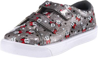 Disney Minnie Mouse, Disney Minnie Mouse Sneakers Low für Mädchen, silber