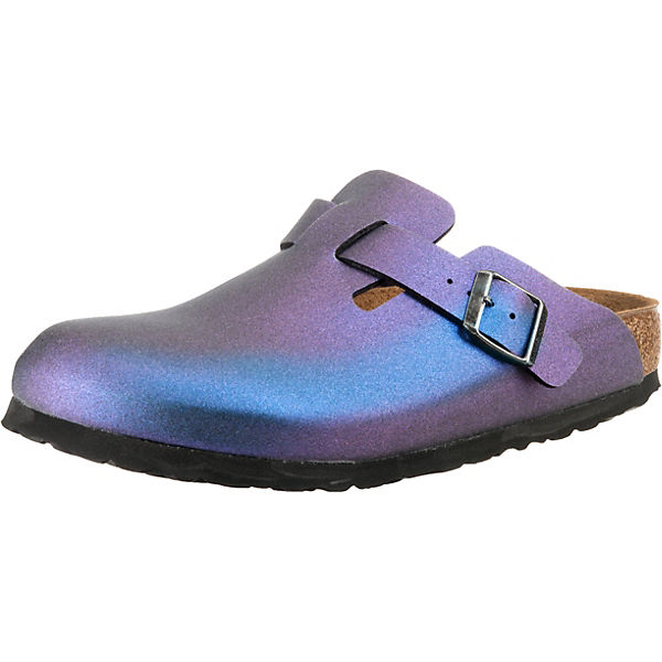 Boston Icy Metallic Schmal Clogs
