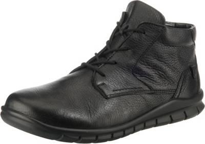 Schnürschuhe NEU Gr. 6 12 schwarz Luftpolster Schuhe Leder
