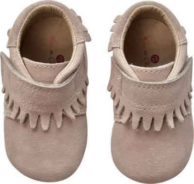 Krabbelschuhe Baby Lauflernschuhe Schuhe Hausschuhe  Leder Rose et Chocolat