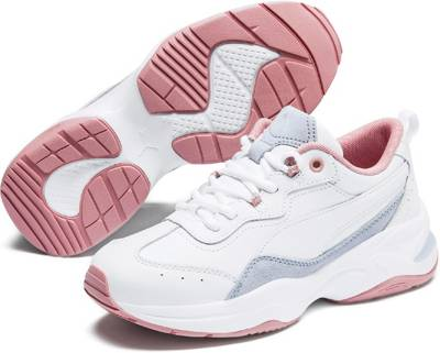 PUMA, Cilia Lux Sneakers Low, weiß | mirapodo