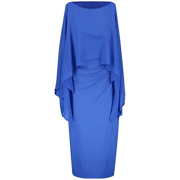 Weber Chiffon Gerry Limited Kleid Edition Mit Gewirke Blau CxerodBW