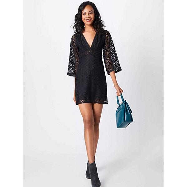 Nina Fashion Union Schwarz Kleid Sommerkleider j34RLq5A