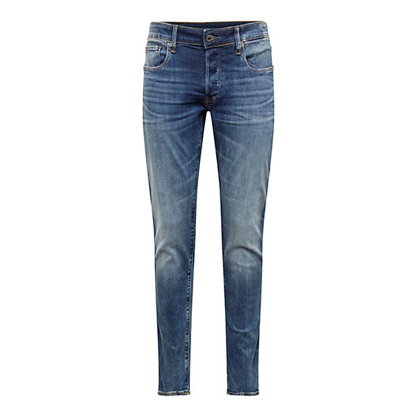 Denim Blue Raw Jeans 3301 star Slim Jeanshosen G 8n0PkXNwO