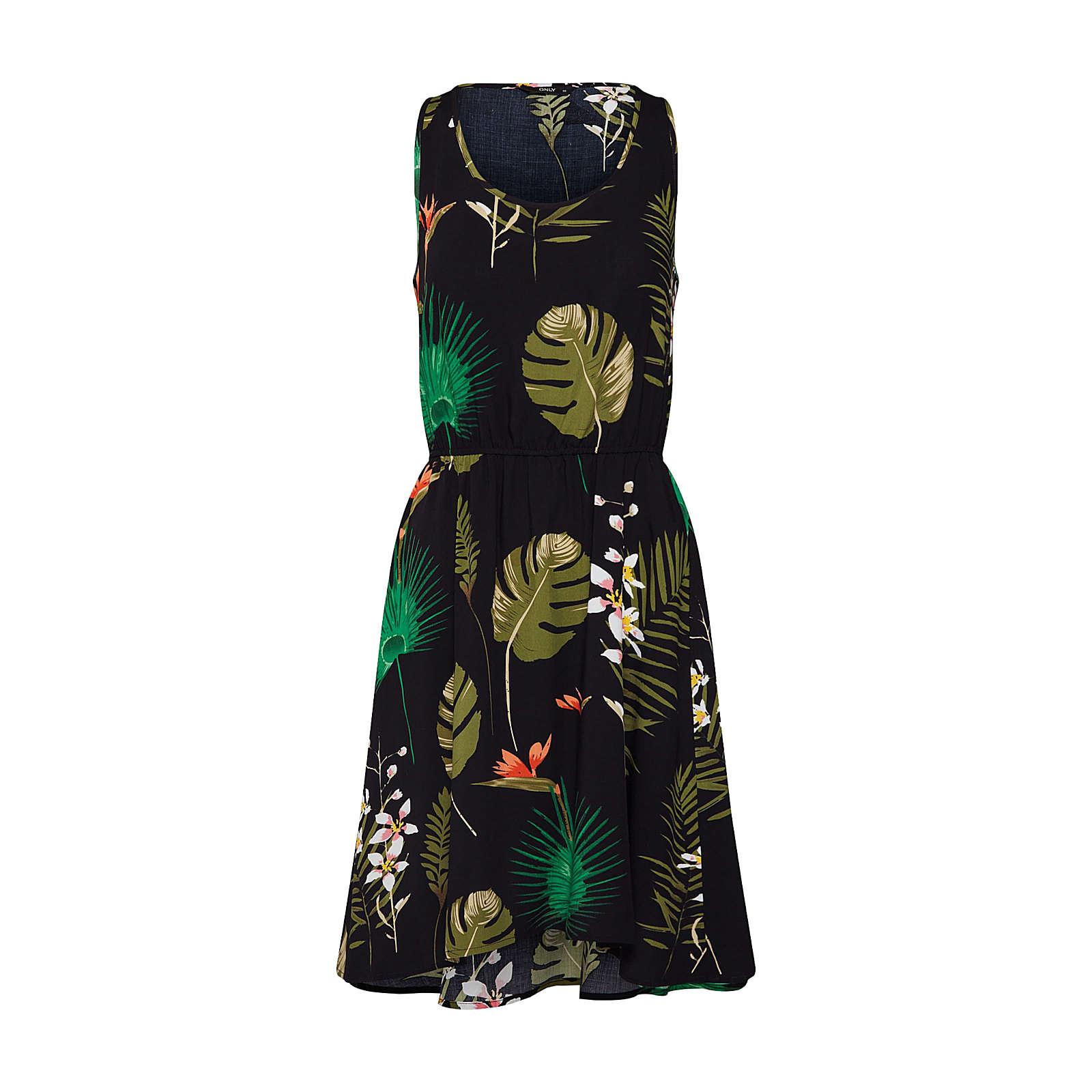 ONLY Sommerkleid FLORA Sommerkleider schwarz Damen Gr. 36