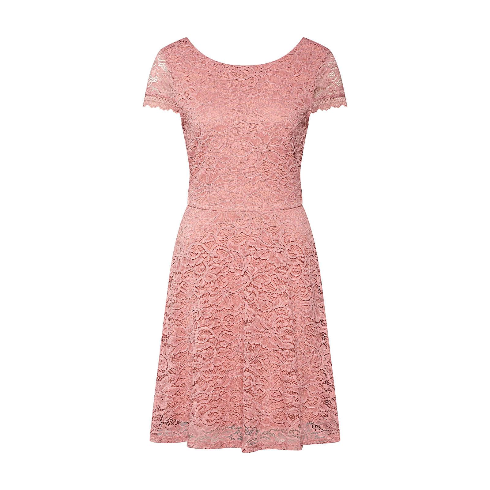 VERO MODA Kleid VMSASSA CAPSL SHORT DRESS BOO JRS Sommerkleider rosa Damen Gr. 40