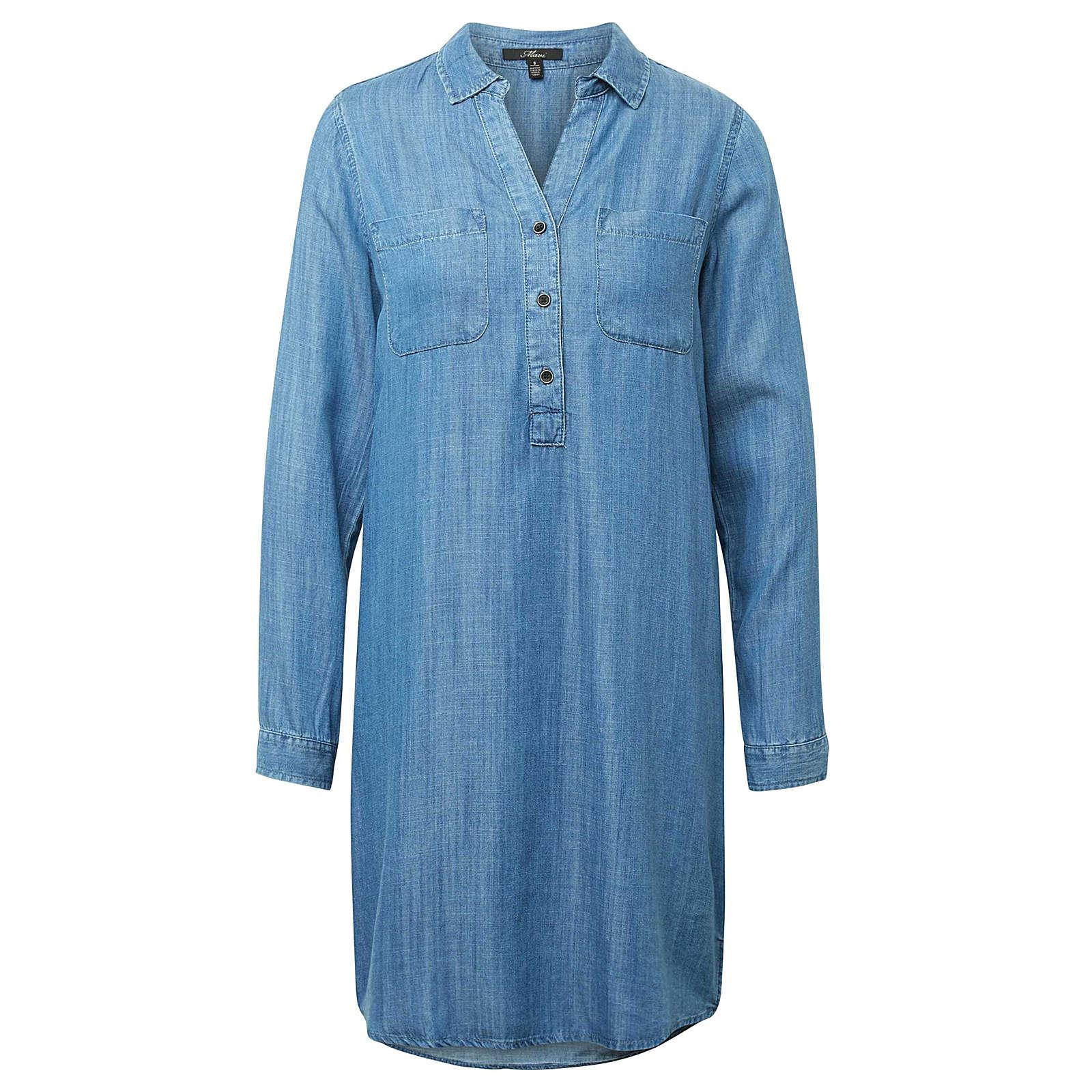 Mavi Blusenkleid DENIM DRESS Blusenkleider blue denim Damen Gr. 38