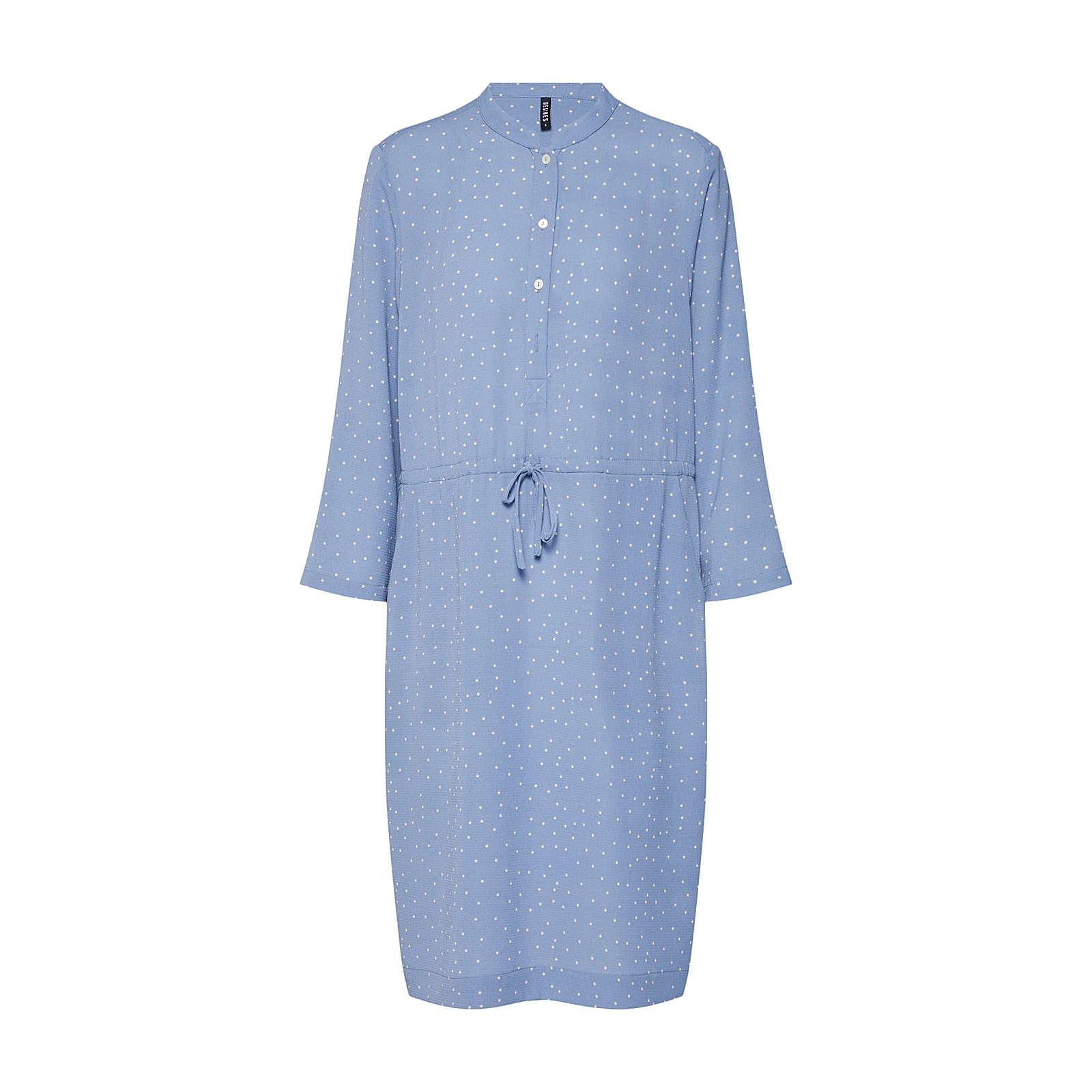 Desires Blusenkleid Valeska Blusenkleider weiß Damen Gr. 34
