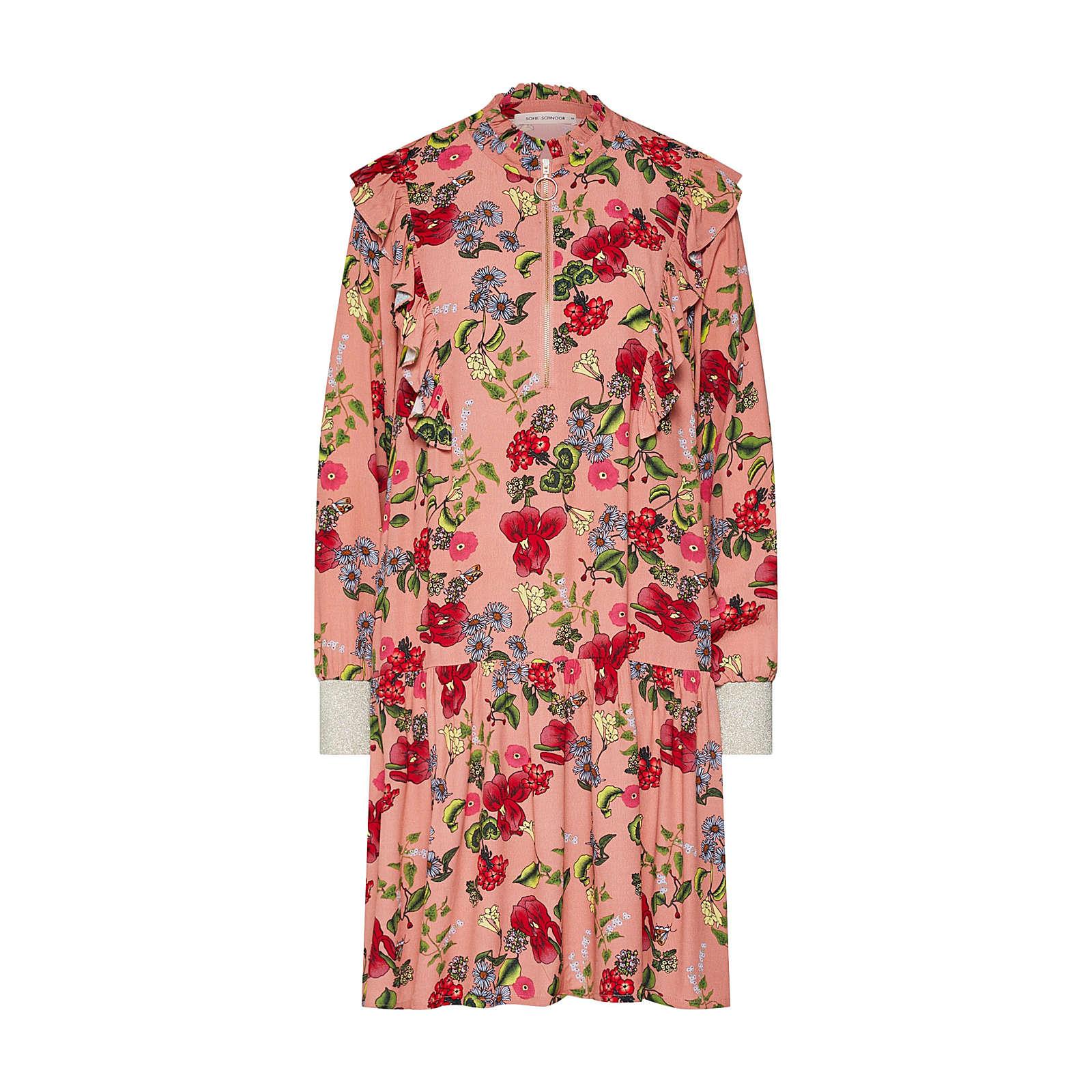 Sofie Schnoor Blusenkleid Blusenkleider rosa Damen Gr. 34