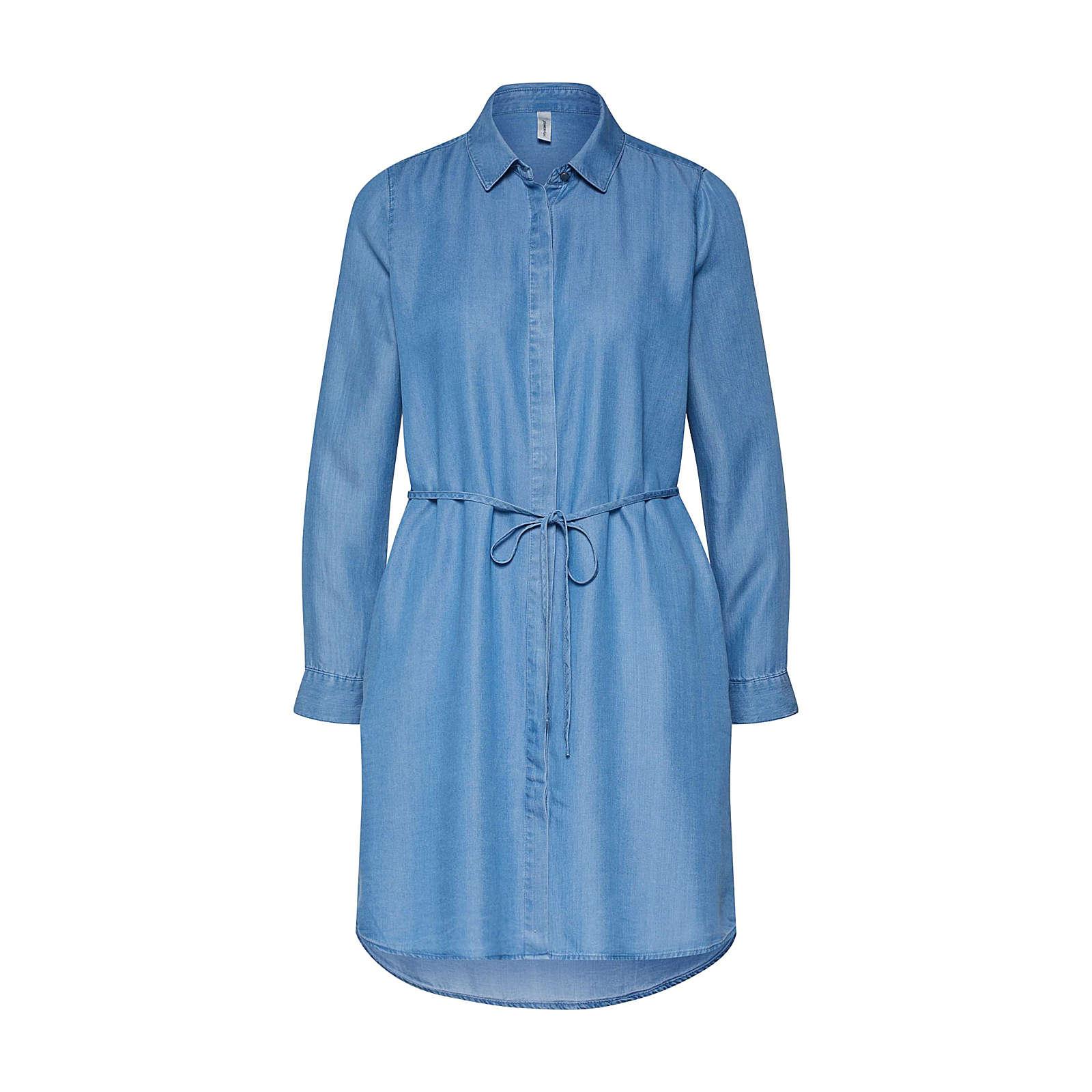 Soyaconcept Blusenkleid LIV 6 Blusenkleider hellblau Damen Gr. 44