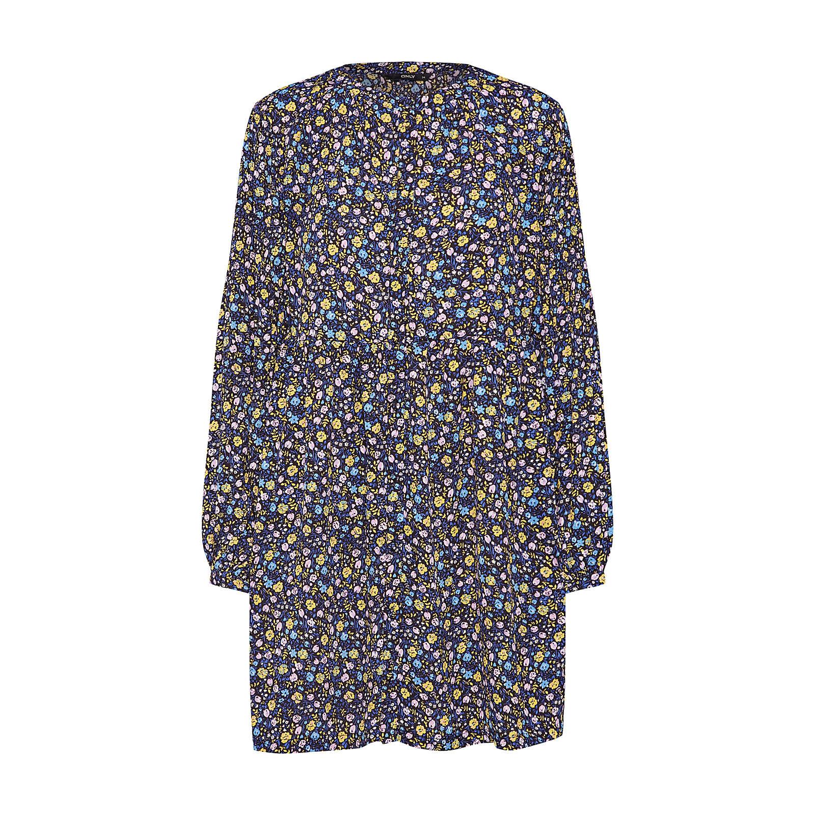 ONLY Blusenkleid PHOEBE Blusenkleider schwarz Damen Gr. 36