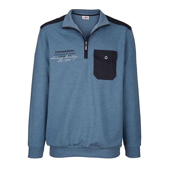 Roger Blau Sweatshirt Roger Kent Kent Roger Blau Sweatshirt 4R5AL3j
