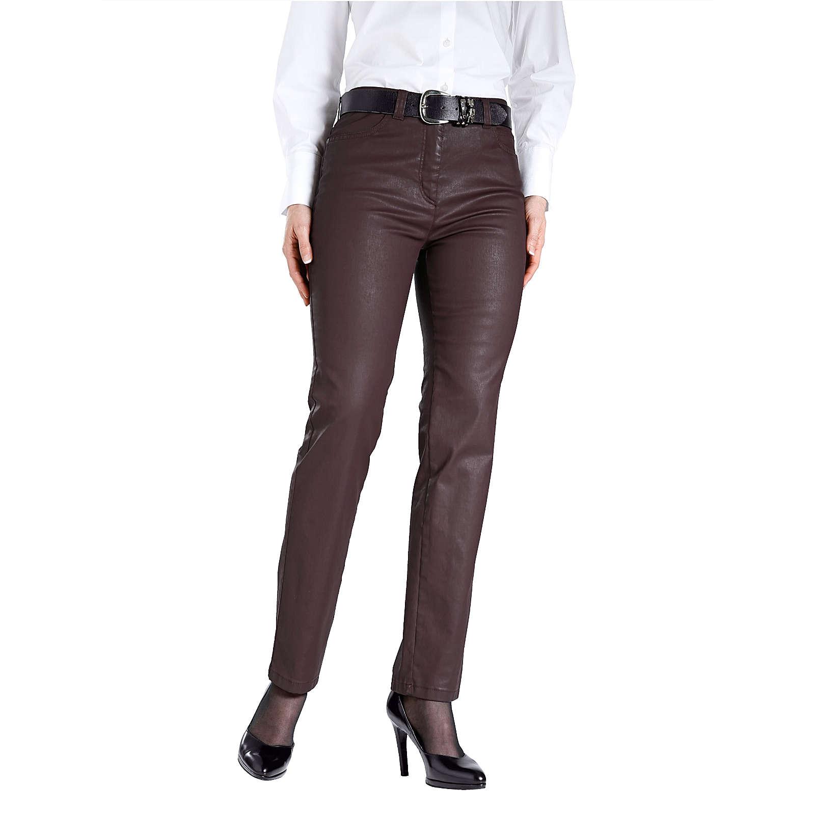 TONI 5-Pocket-Hose beere Damen Gr. 19