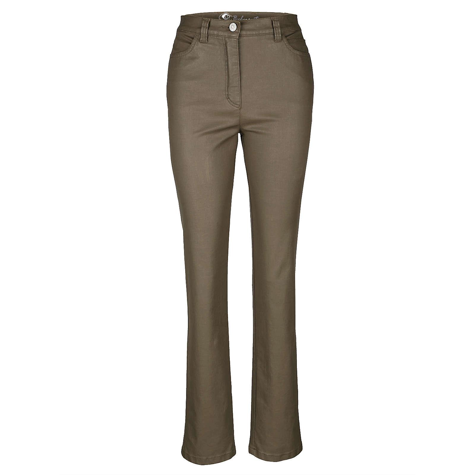 TONI 5-Pocket-Hose khaki Damen Gr. 20