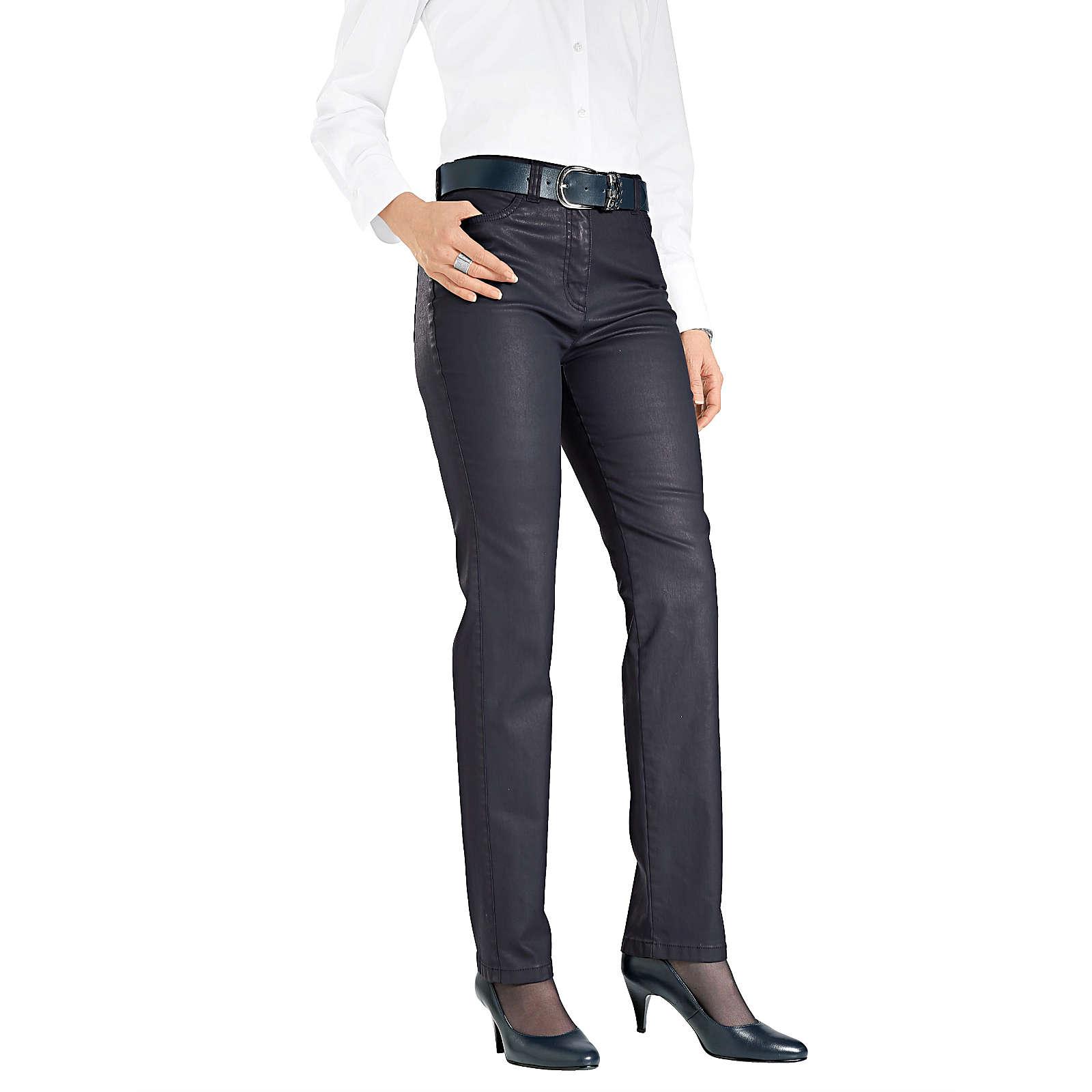 TONI 5-Pocket-Hose dunkelblau Damen Gr. 44