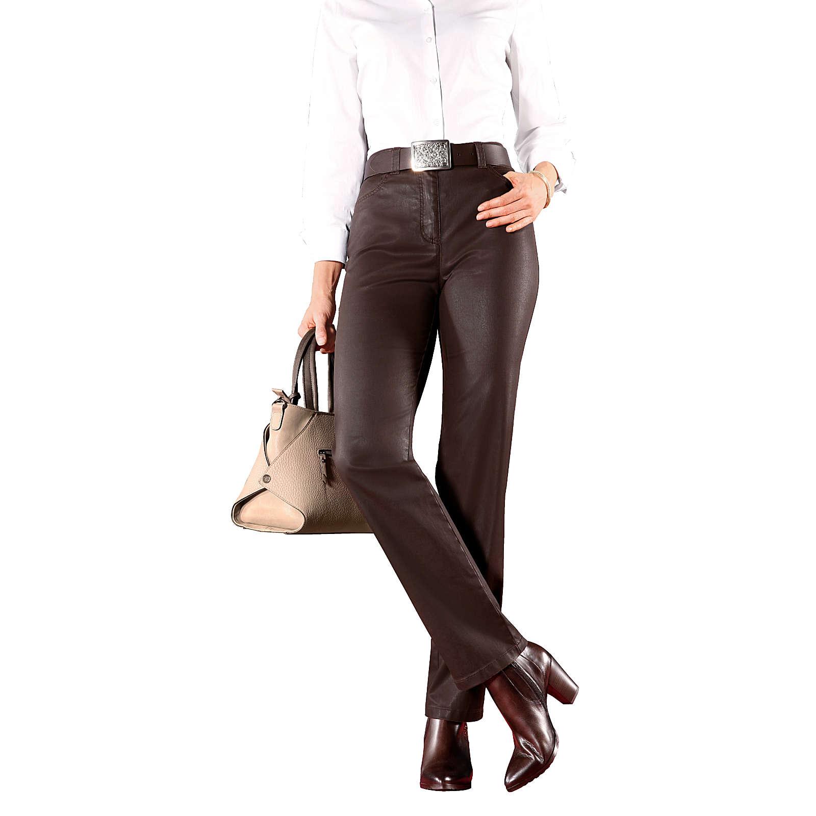 TONI 5-Pocket-Hose braun Damen Gr. 24