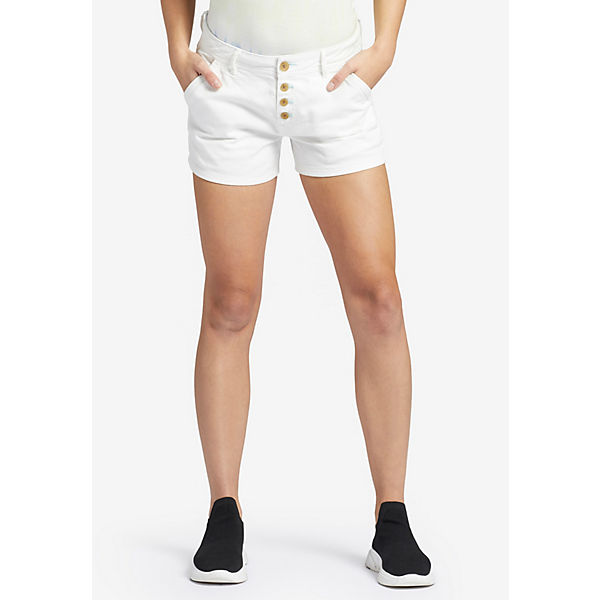 Khujo Shorts Hose Weiß Barby ulFKJ31Tc