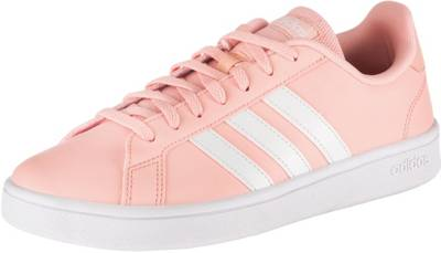 adidas grand court rosa