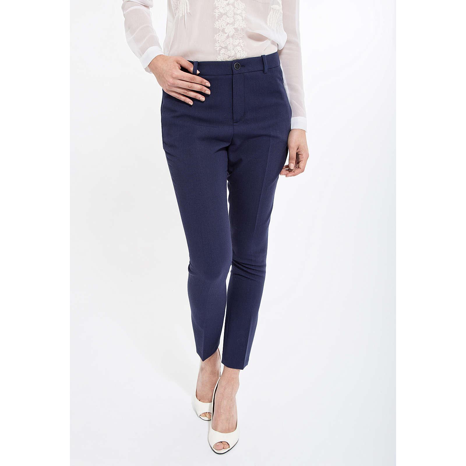 Mexx Bügelfaltenhose mit Taschen Stoffhosen blau Damen Gr. 32