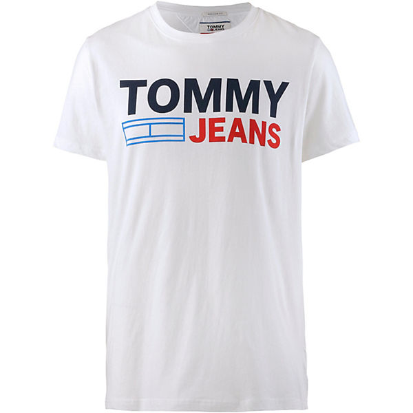 T shirts shirt Tommy Weiß Jeans T 6Ygf7ybv