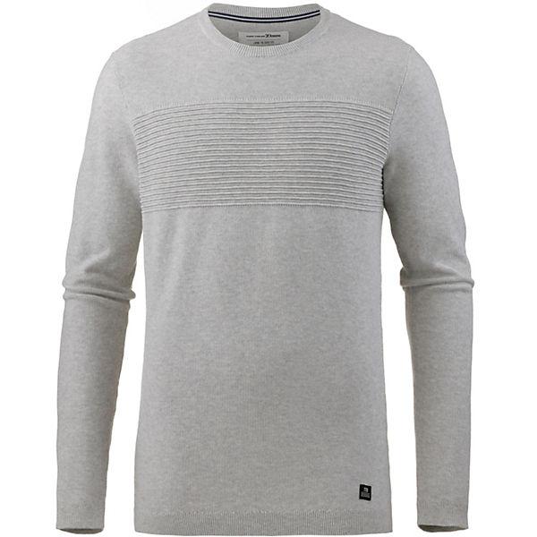 Denim Tom Strickpullover Grau Tailor Pullover lTK3Jc5F1u