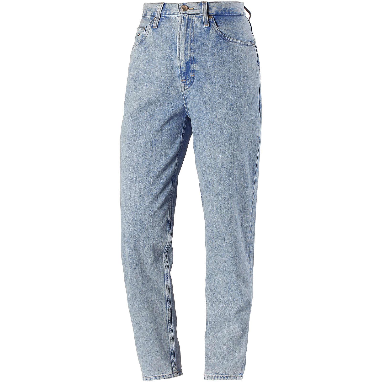 Tommy Jeans Straight Fit Jeans Jeanshosen blau Damen Gr. 28