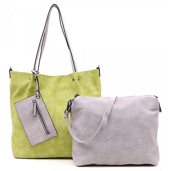 2 Noah Surprise Dunkelgrau Emilyamp; In Bag Shopper No wPnOk0