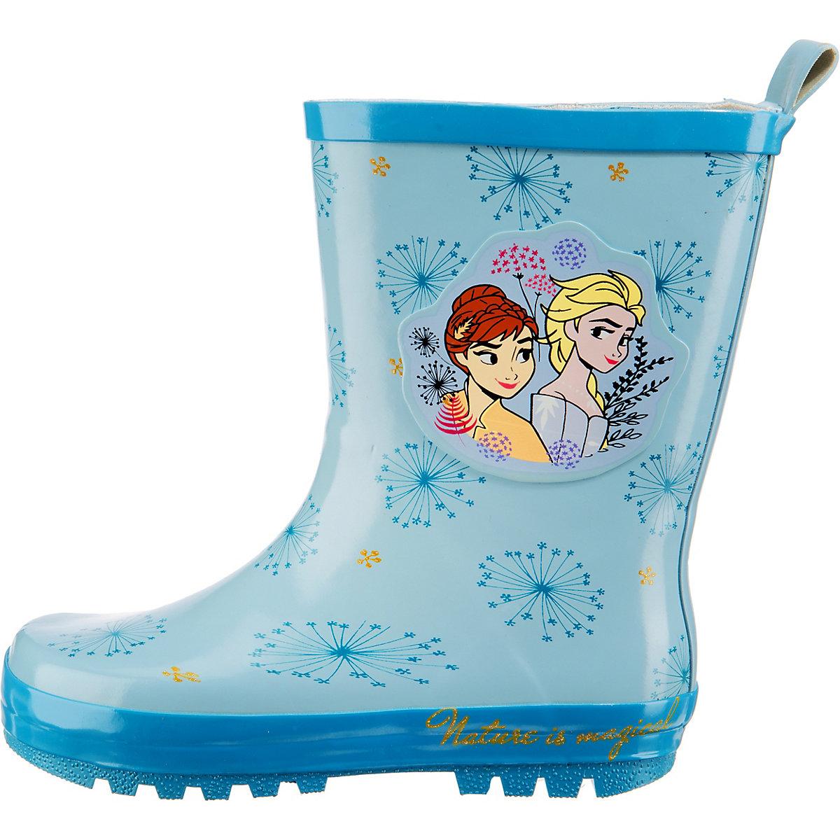 Disney Die Eiskönigin, Eiskönigin Gummistiefel Für Mädchen, Blau