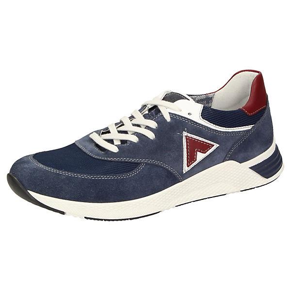 Sneaker Natovan Sneakers Low Sioux 701 Blau QoerdCxBW