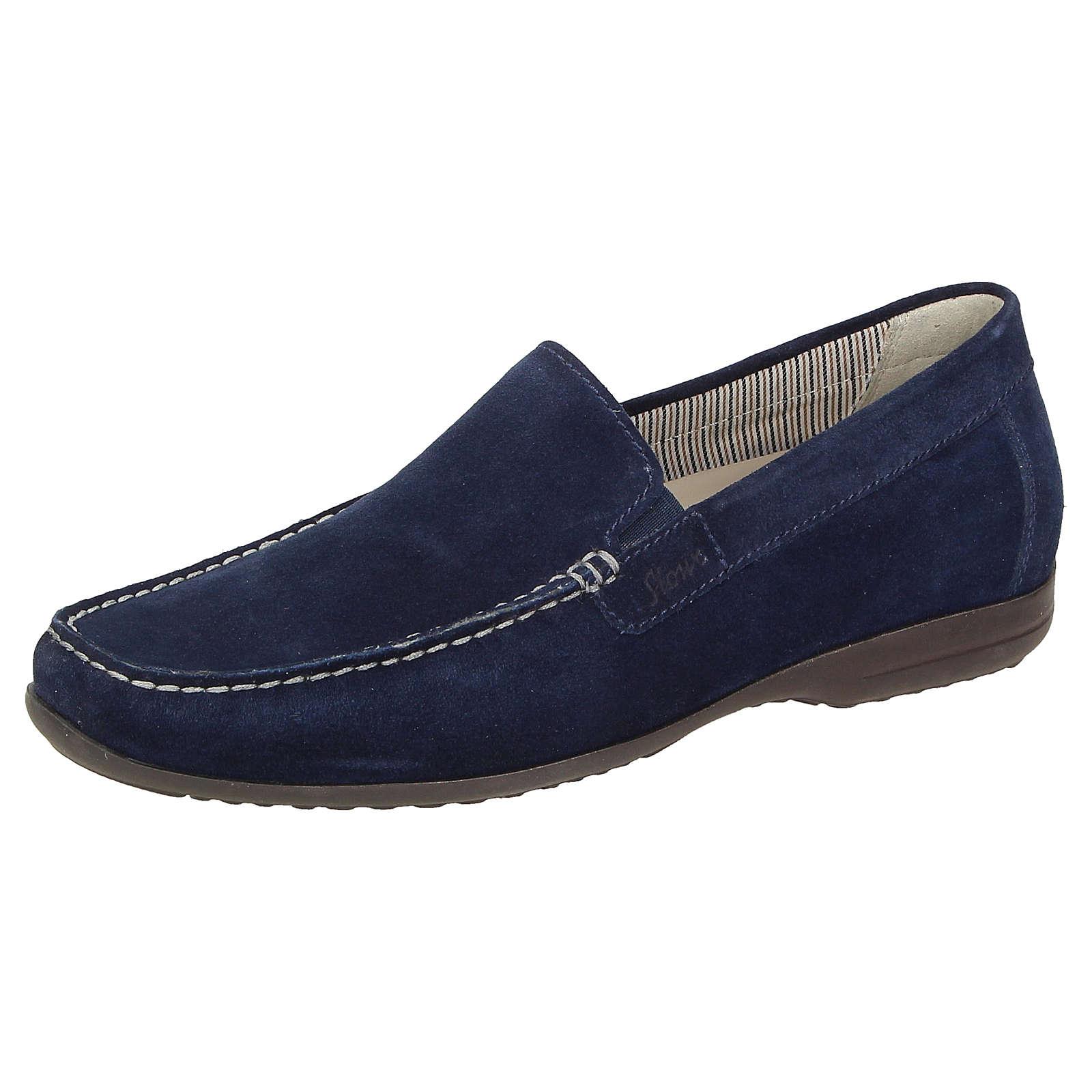 Sioux Slipper Giumelo-700 Slipper blau Herren Gr. 41,5