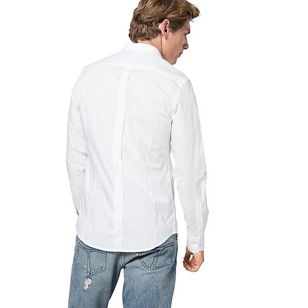 Replay Hemd Hemd Replay Weiß Hemd Langarmhemden Weiß Langarmhemden Replay Langarmhemden Weiß EHW29DIY