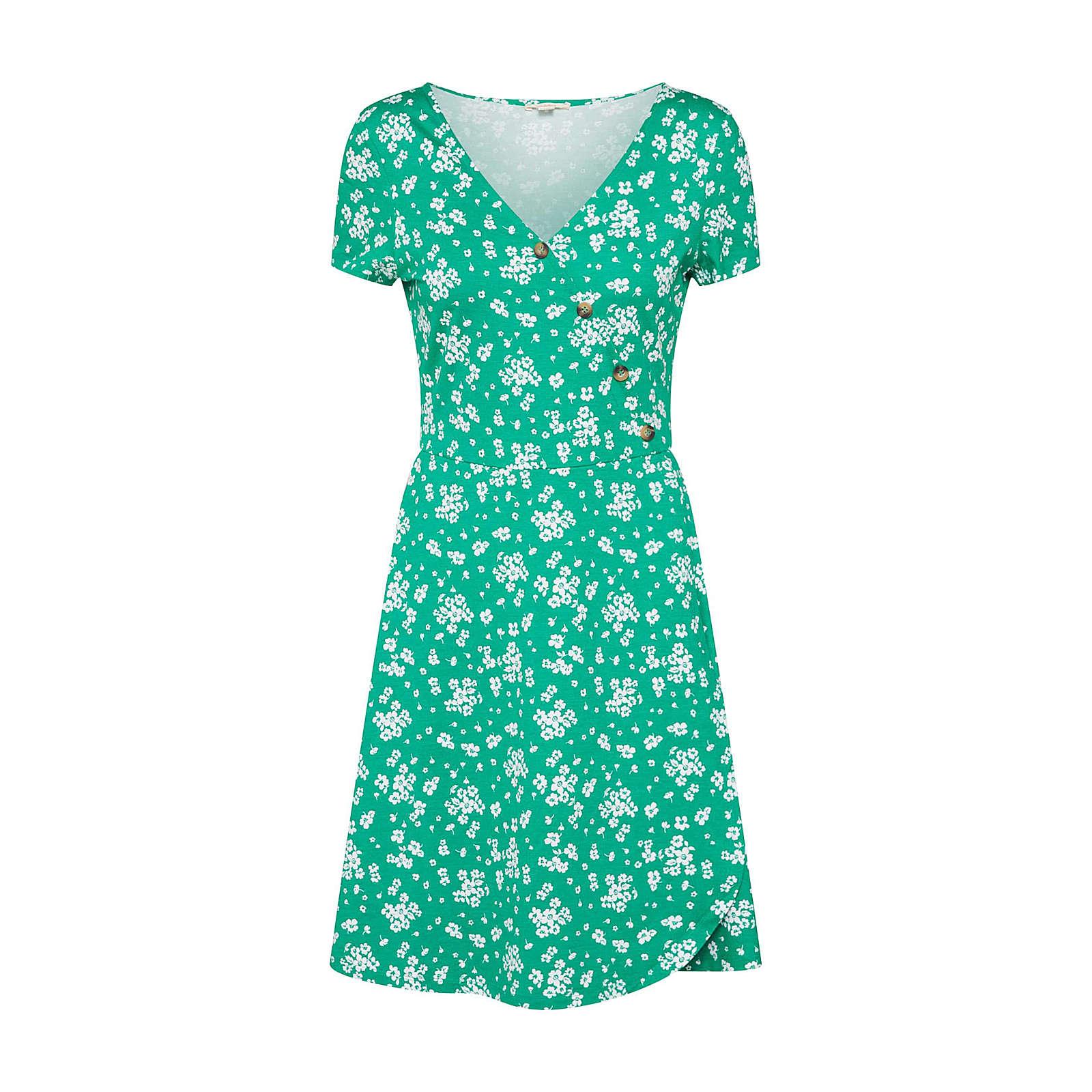 ESPRIT Sommerkleid Sommerkleider grün Damen Gr. 42