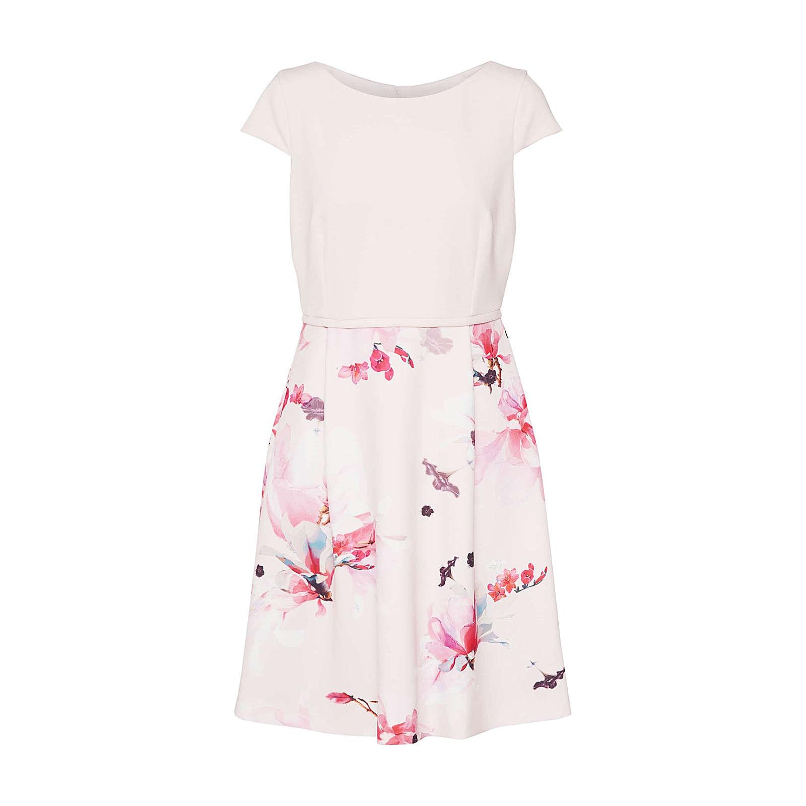 COMMA Sommerkleid Sommerkleider rosa Damen Gr. 42