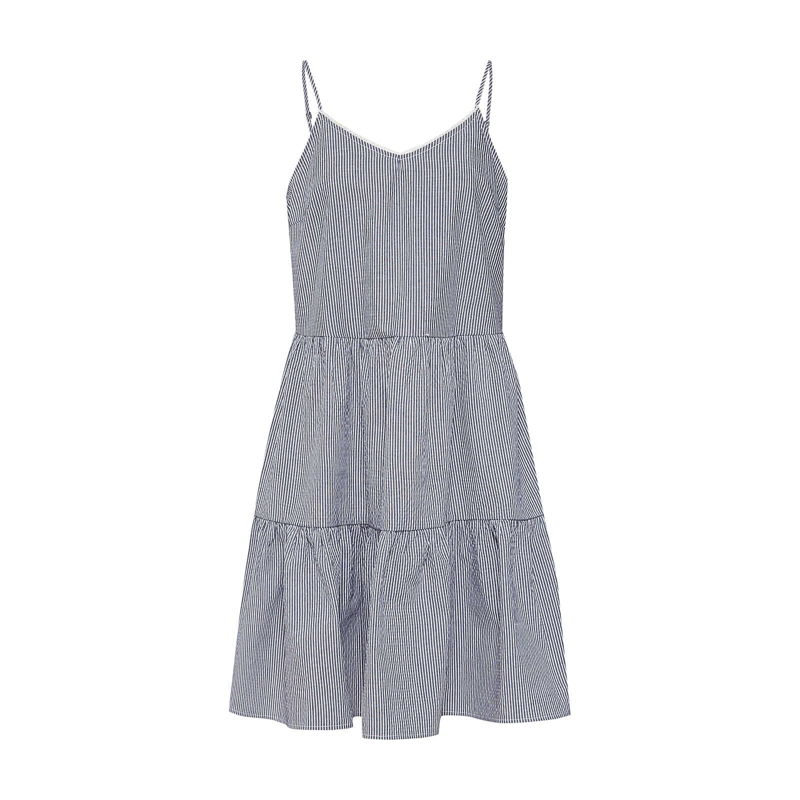 VERO MODA Sommerkleid VMJANE ABK SINGLET DRESS Sommerkleider weiß Damen Gr. 34