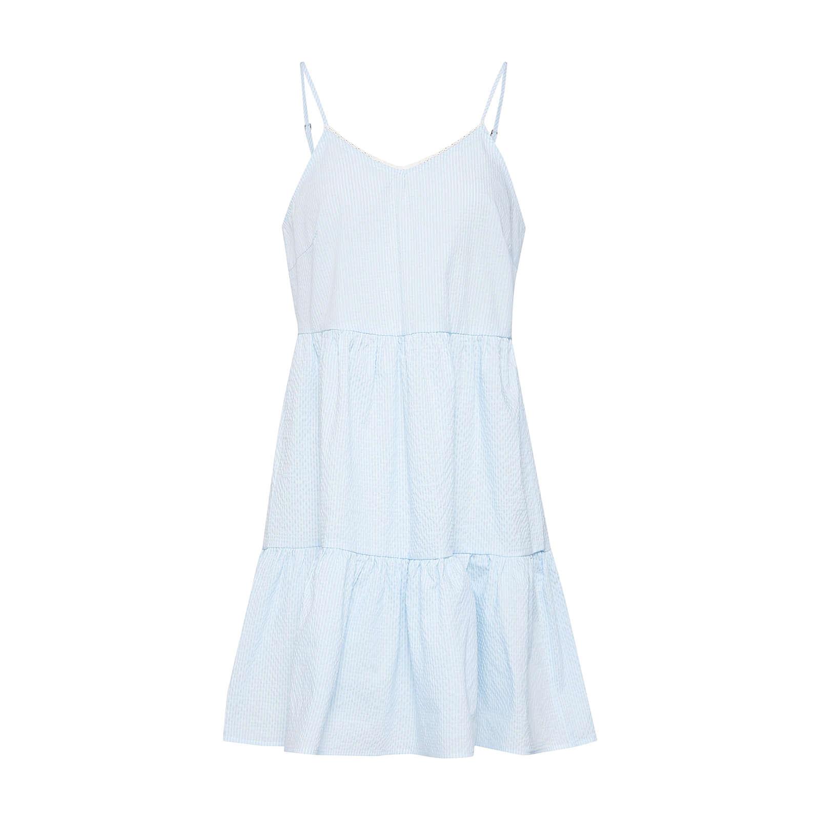 VERO MODA Sommerkleid VMJANE ABK SINGLET DRESS Sommerkleider weiß Damen Gr. 36