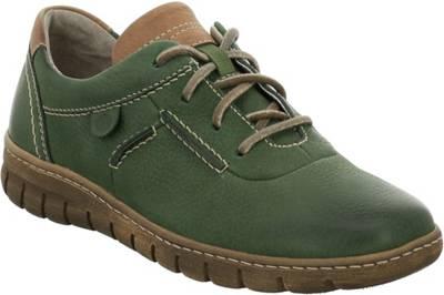 Paul Green Klassische Halbschuhe grün mirapodo Schuhe Leder
