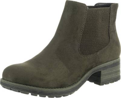rieker, Chelsea Boots, grün