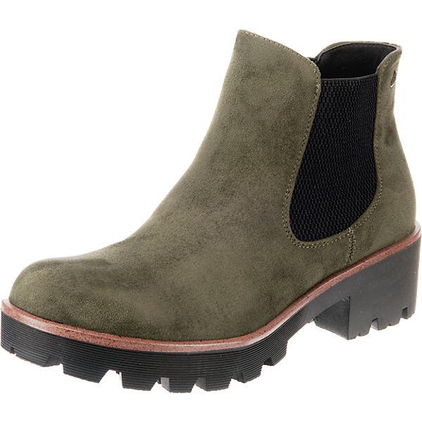 damen Rabatt-Verkauf mehr Fotos rieker, Chelsea Boots, grün