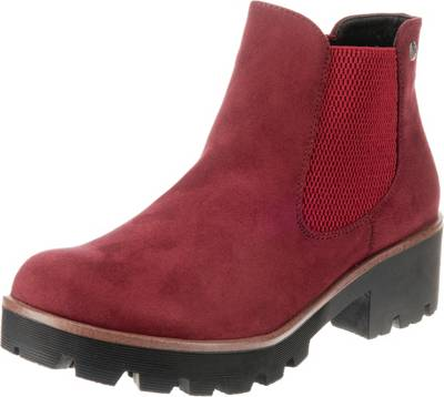 rieker, Chelsea Boots, rot