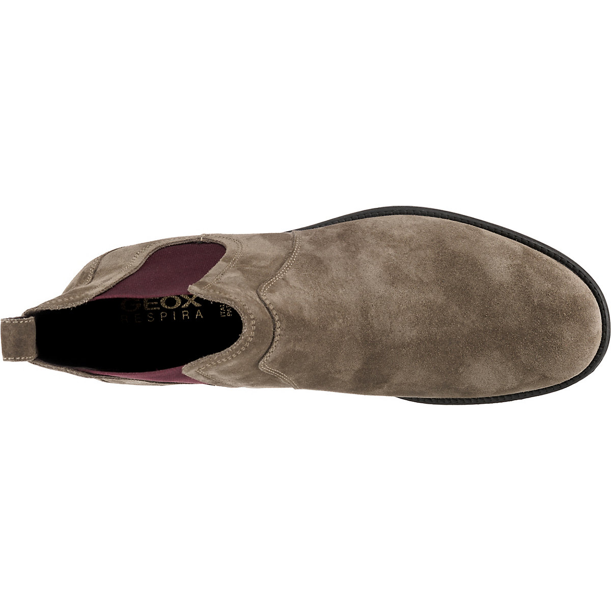 Geox, U Jaylon Chelsea Boots, Taupe