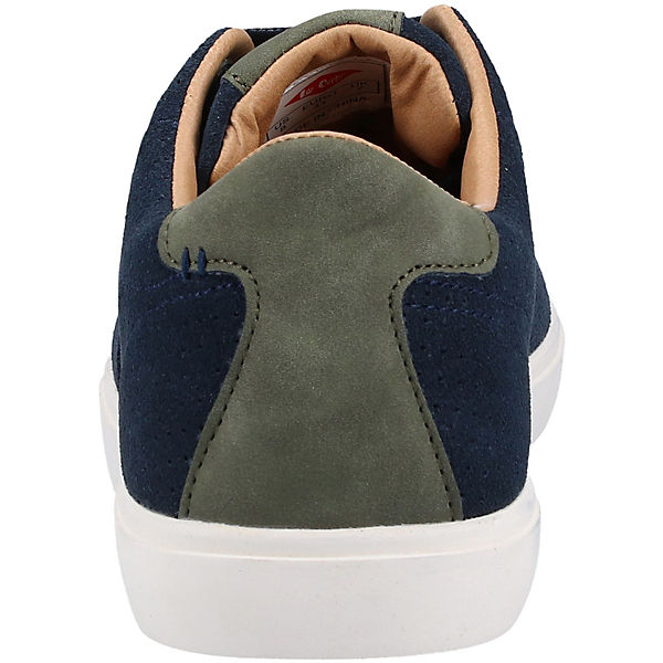 Cooper® Sneakers Low Lee Blau Sneaker v8n0mNw