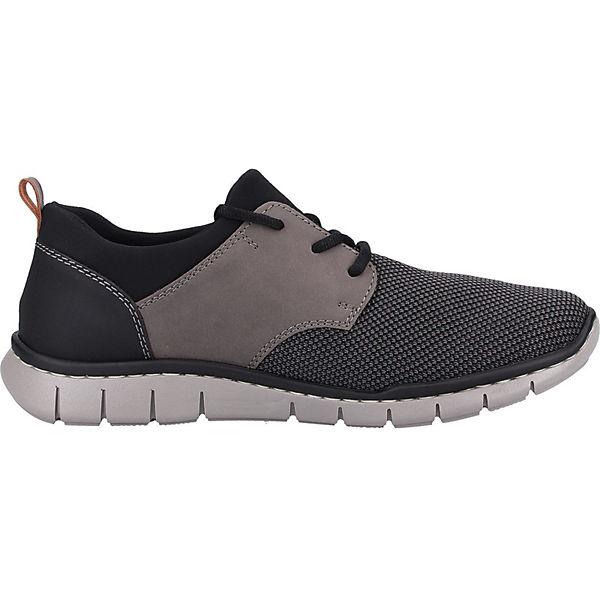 kombi Rieker Sneakers Sneaker Low Grau DHE29IW
