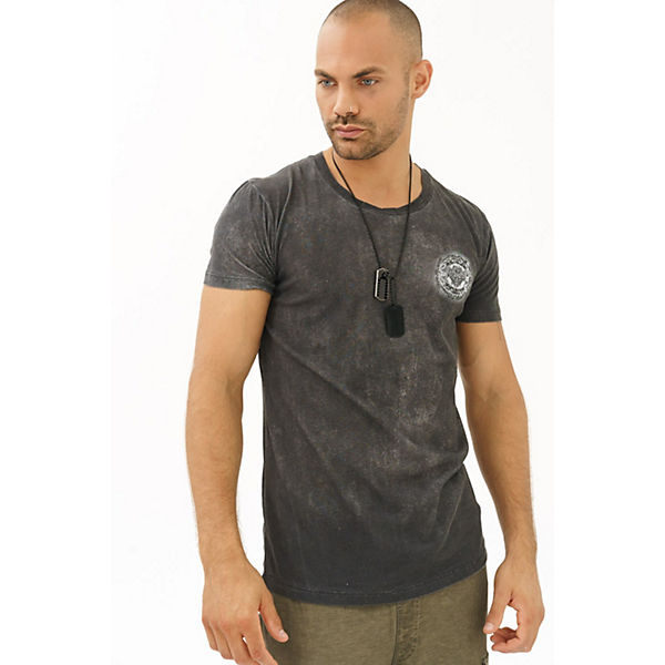 T Of Trueprodigy® shirt shirts Mit Maori T Inspiration Rückenprint Anthrazit Trueprodigy 1TlcKJF