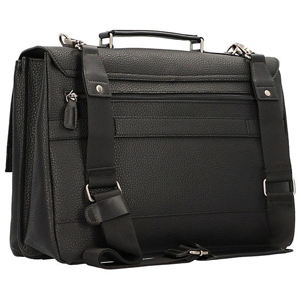 Picard Aktentasche Leder Luke Cm 40 Laptopfach Schwarz 0vmN8wOn