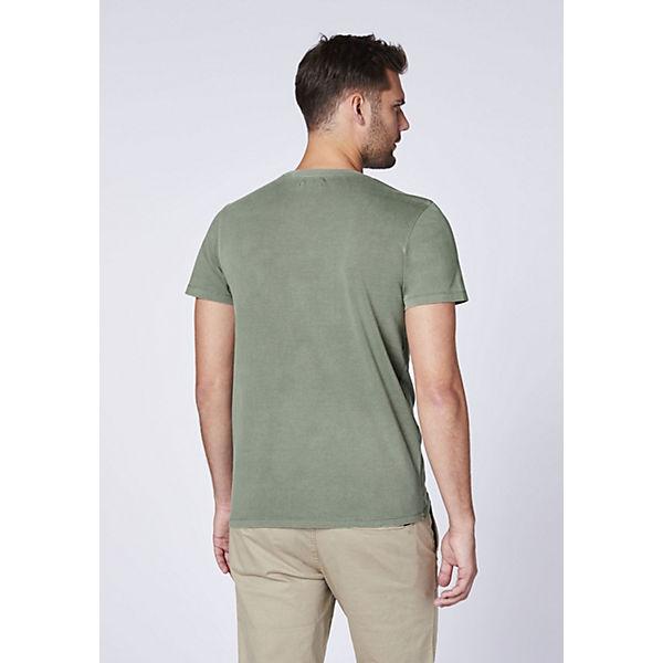 T Gots Chiemsee Bio shirt zertifizierter Aus Dunkelgrün baumwolle HWD9YE2I